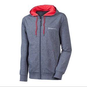 Orange theory fitness full zip hoodie small 0680